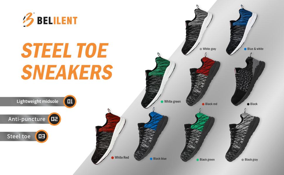 steel toe shoes men
