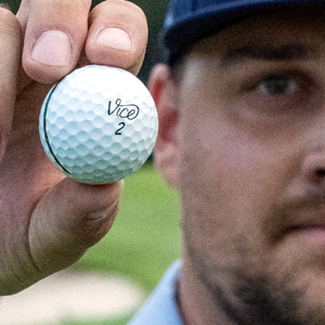 Vice Golf ball closeup
