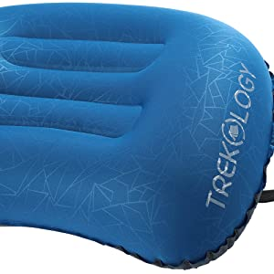 Trekology Ultralight Gonflage de Voyage//Camping Oreillers-Compressible Compact,
