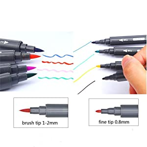 dual tip pen markre