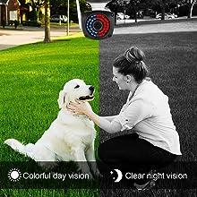 Outdoor camera night vision