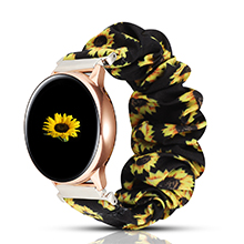 scrunchie watch band 20mm  PENKEY 20mm Scrunchie Watch Band Compatible with Samsung Galaxy Watch 42mm,Soft Classic Pattern Replacement Wristbands for Samsung Galaxy Watch Active/Active 2 01effe9d 6de6 4209 a8ab 6e1772178d02