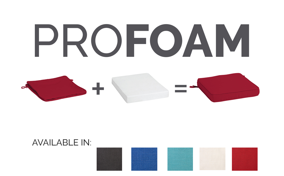 ProFoam Outdoor Foam Cushion Assembly