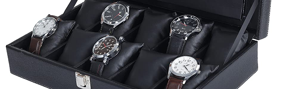 Hard Craft Watch box with sample watches