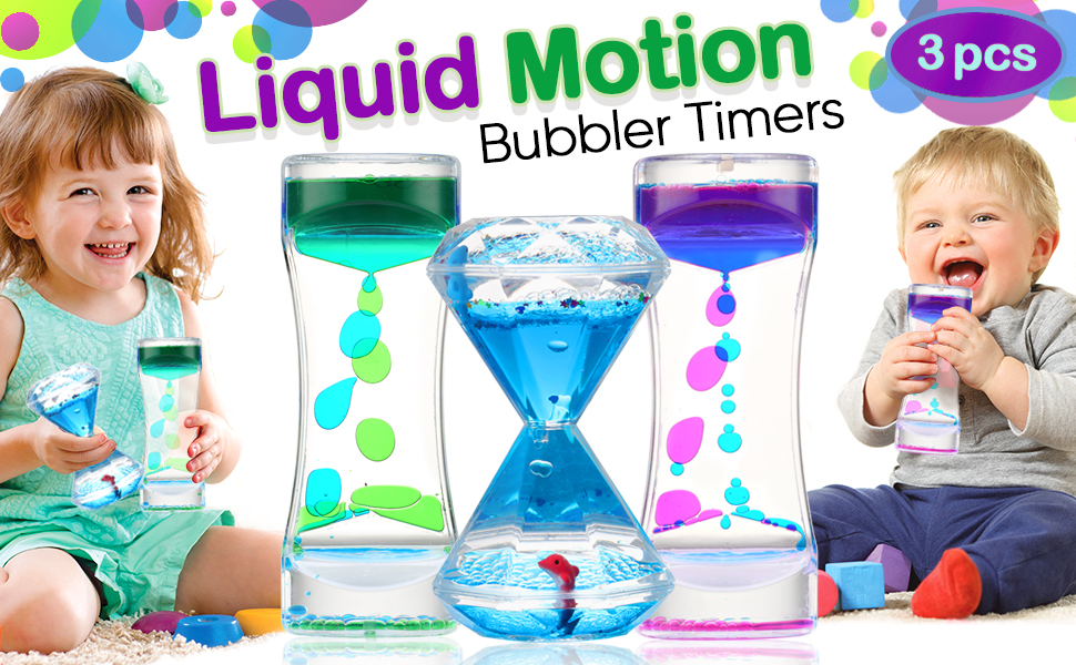 Liquid bubbler motion timer
