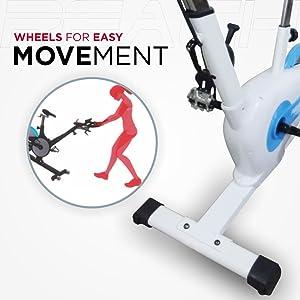 Reach exercise bike