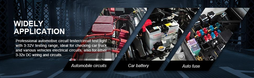 led automotive circuit tester