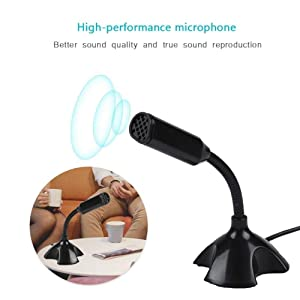 noise cancelling mic for office class room online teaching meeting