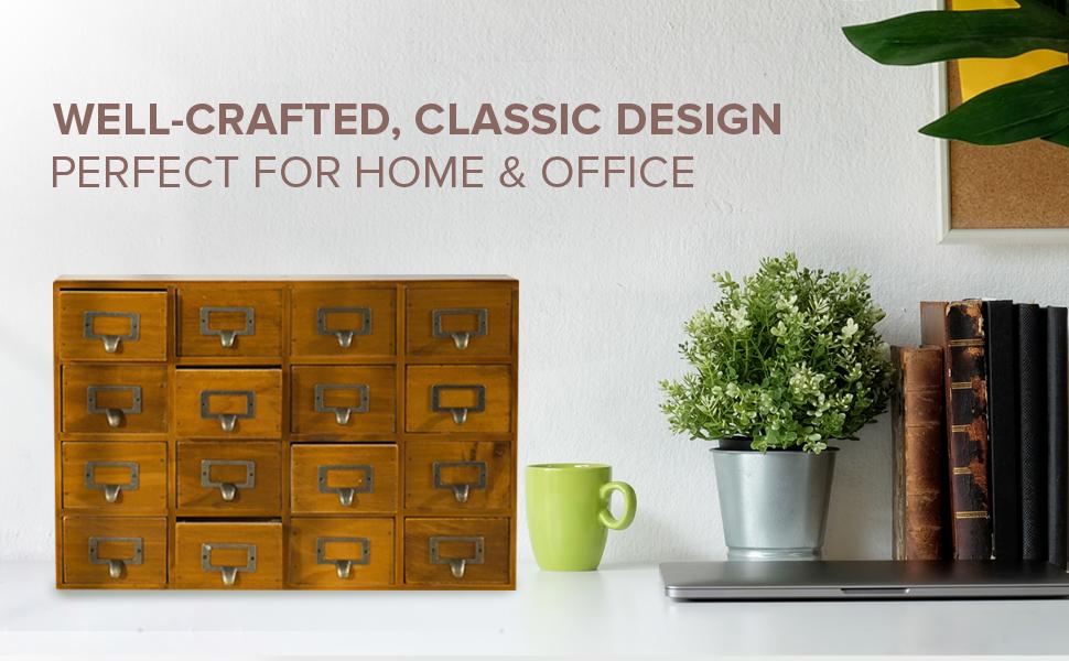 crafters companion wooden dresser sewing organization and storage tea box wooden storage cabinet