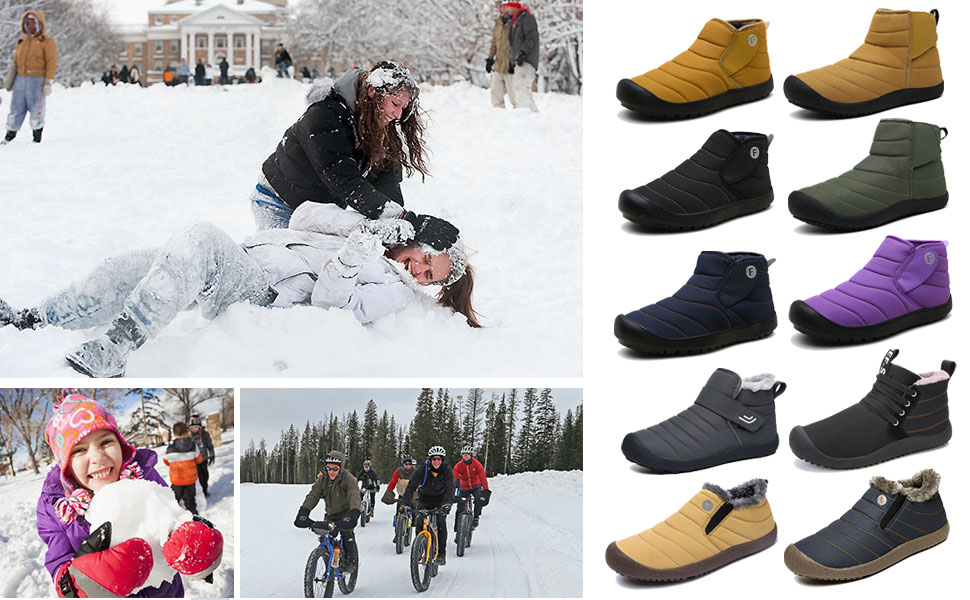 snow boots for winter