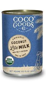 Organic Coconut Milk Lite