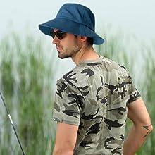 waterproof rain hats windproof rainproof fisherman sun cap