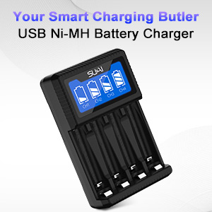 rechargeable battery charger aa