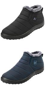 L-RUN Womens Mens Snow Boots