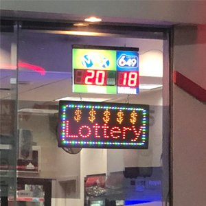 customer window display