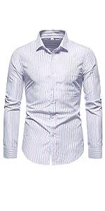 dress shirts for men Blue