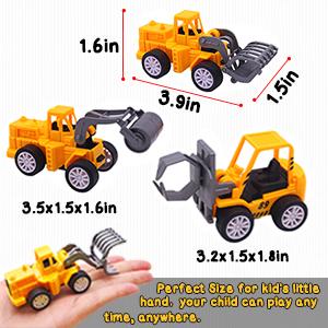 Mini Engineering Car Toys