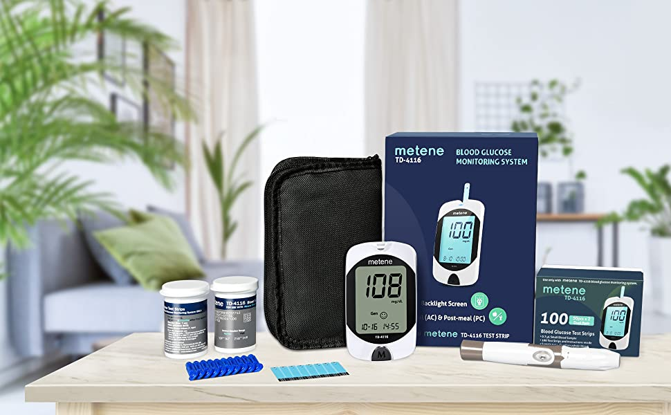 blood sugar tester