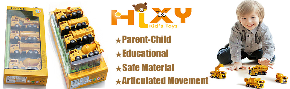 SET OF 4 MICRO TOY  TRUCK FOR KIDS