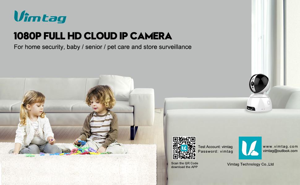 Vimtag-1080P HD cloud IP camera