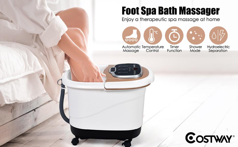 Foot Spa/Bath Massager