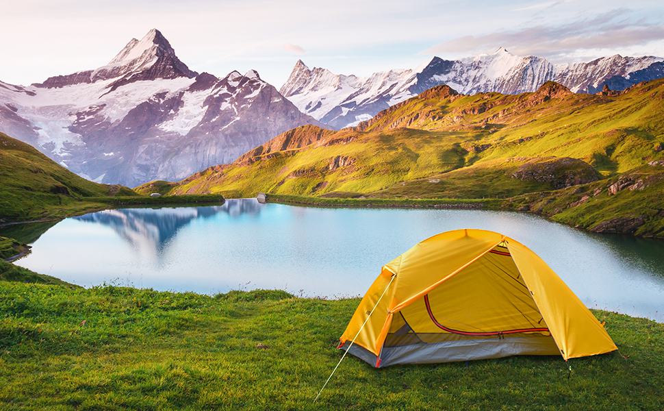 Ultralight 1 Person Backpacking Tent