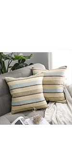 farmhouse pillows linen pillow cover
