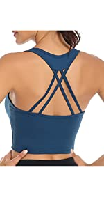 strappy sport bras