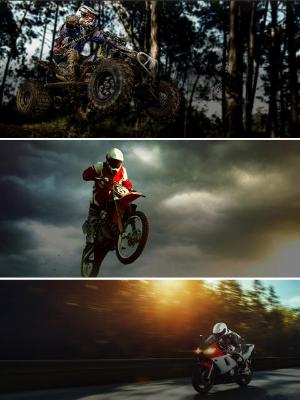 ATV, UTV, Dirt Bike, Street Bike