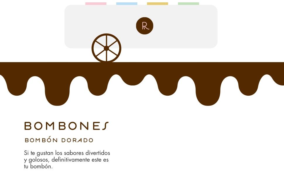 Rocambolesc - Bombón Dorado de Avellanas, Chocolate con ...