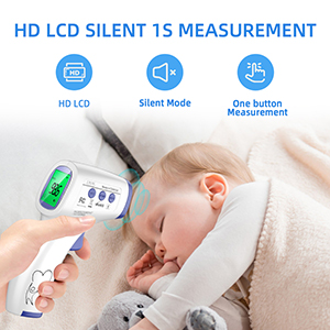 HD Light Thermometer Mute thermometer