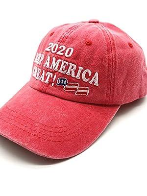 Waldeal Embroidered Unisex Make America Great Again Denim Hats MAGA Baseball Cap