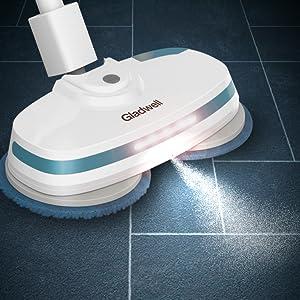 Liquid Spray and LED Light