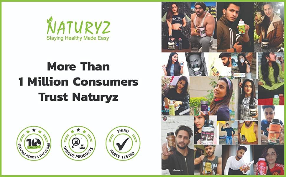 Naturyz happy customers supplement nutrition health