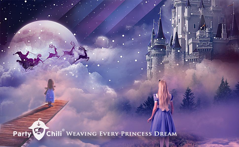 Party chili princess dress