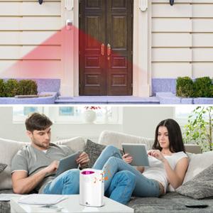 Wireless Driveway Alarm Outdoor