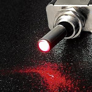 LED toggle switch