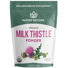 Nature Restore Organic Milk Thistle Powder
