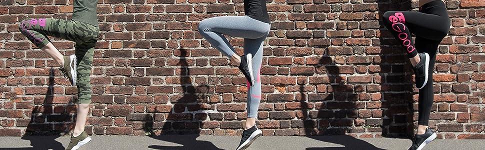 leggings corsa sport palestra fitness