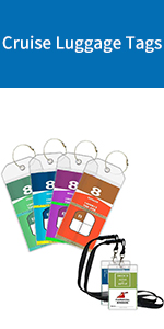 Cruise Luggage Tags Holders