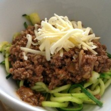 bolognese and liver