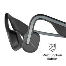 A few taps of the multifunction button allow you to answer calls and control your music