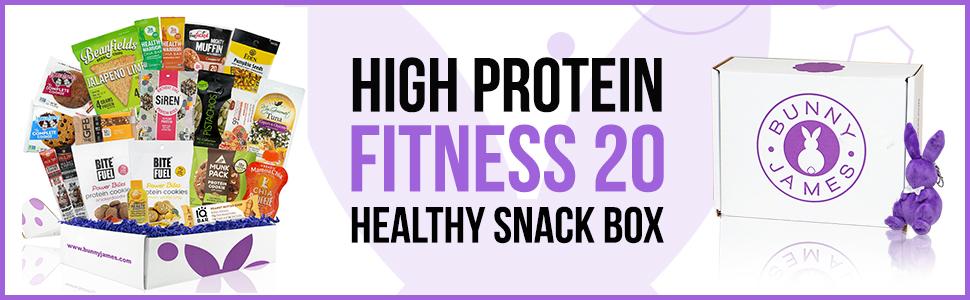 Fitness Vegan Snacks box