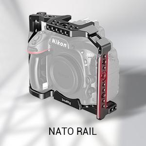 SMALLRIG Cage Jaula para Nikon D800 y D810 - CCN2404: Amazon.es ...