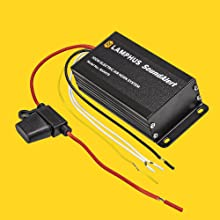 SoundAlert Electric Air Horn Amp Kit