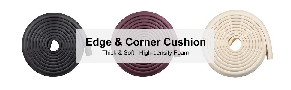 Baby Safety Desk Table Edge Corner Protector Cushion Guard Strip Soft Bumper WD