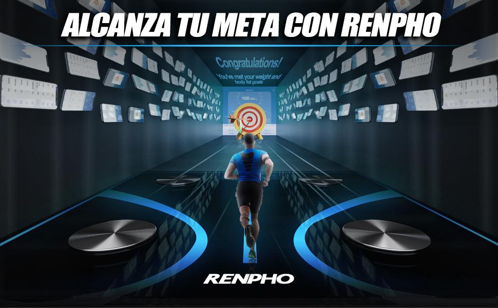 RENPHO Báscula de Baño Digital de Alta Medición Precisa