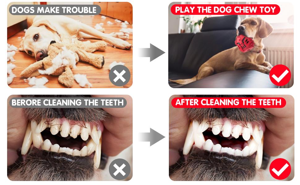 dog toothbrush toys