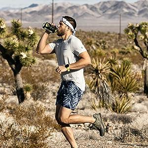 walking Running bottle