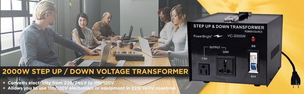 voltage transformer converter 110V Volts 220 Volt step up down conversor